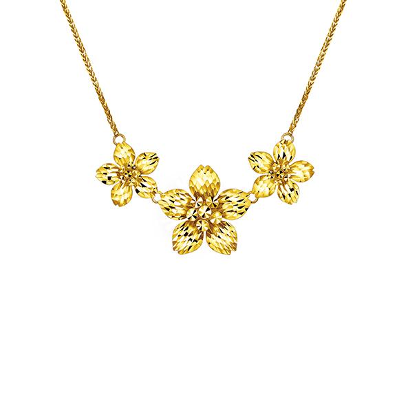 Goldstyle「春恋之花」项链