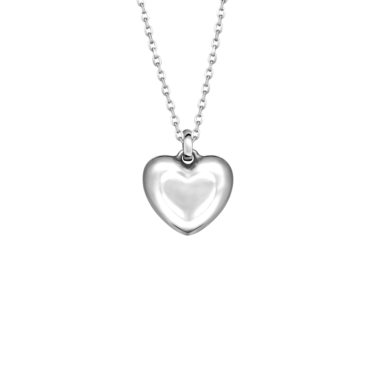 Pt Baby Darling Sweet heart Pendant