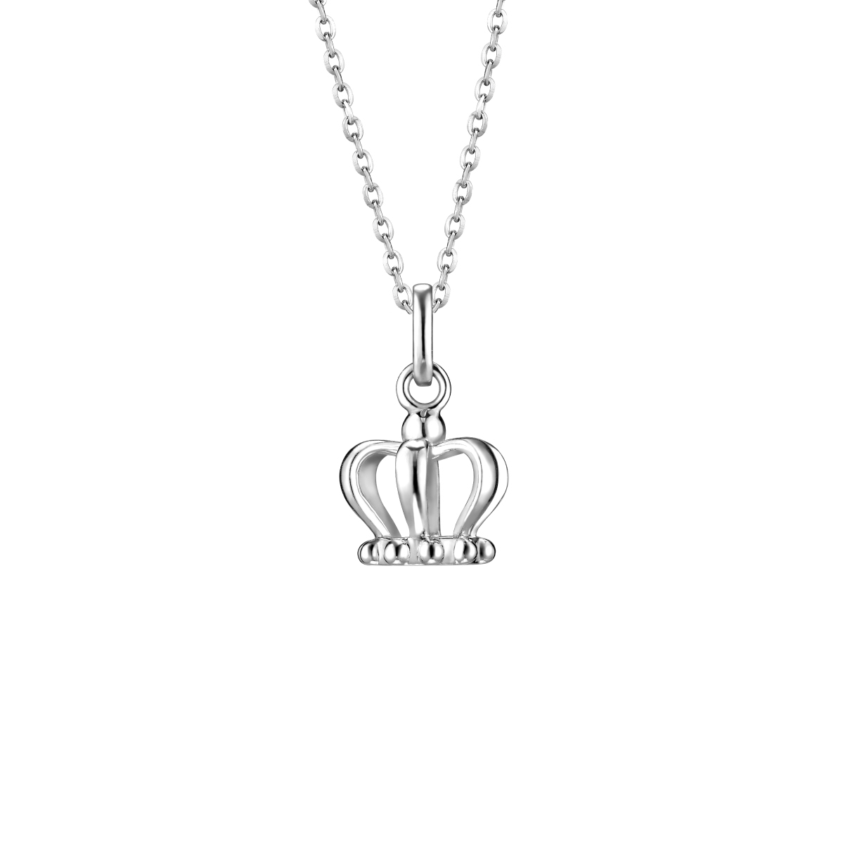 Pt Baby Darling Princess Pendant