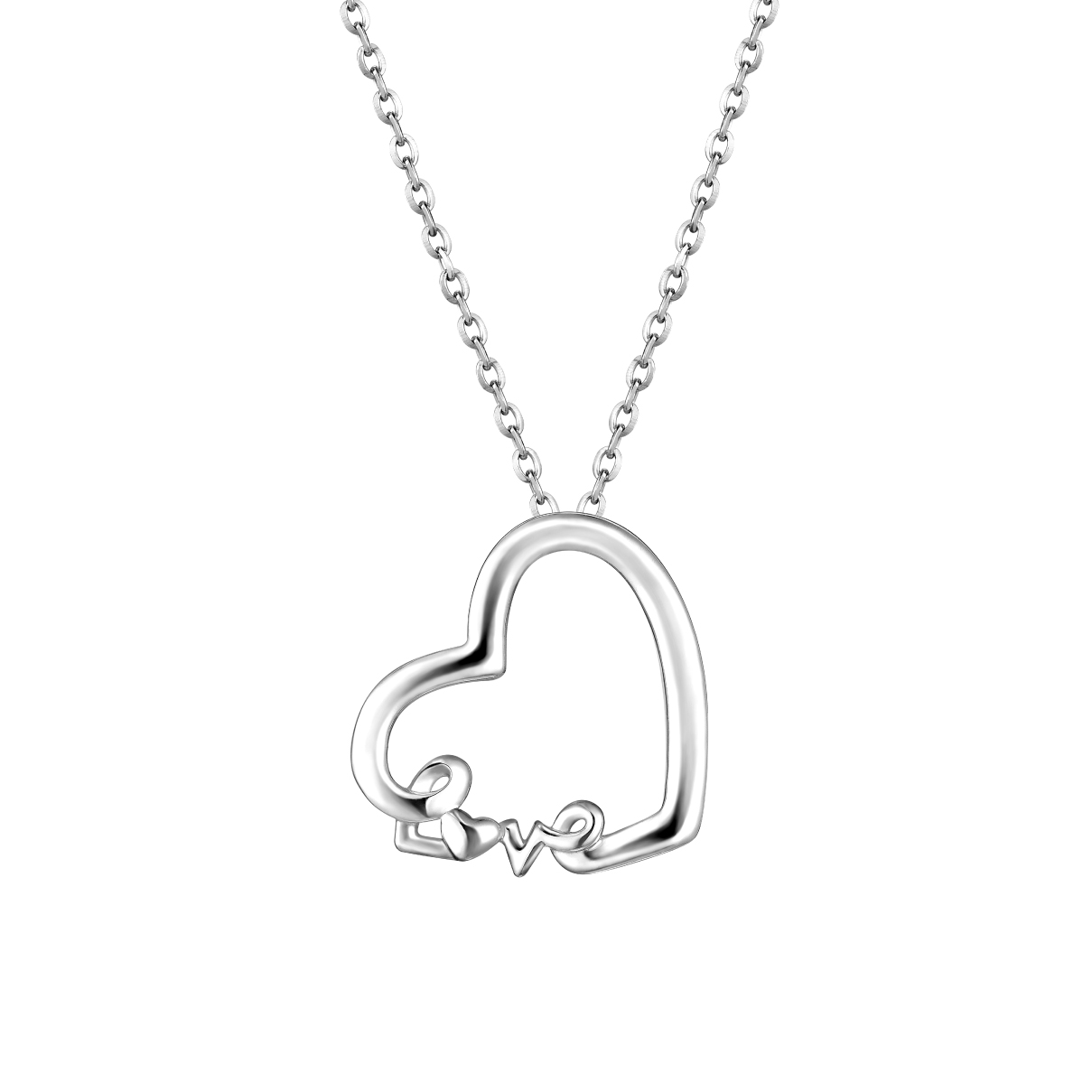 Pt Baby Darling Beloved Pendant
