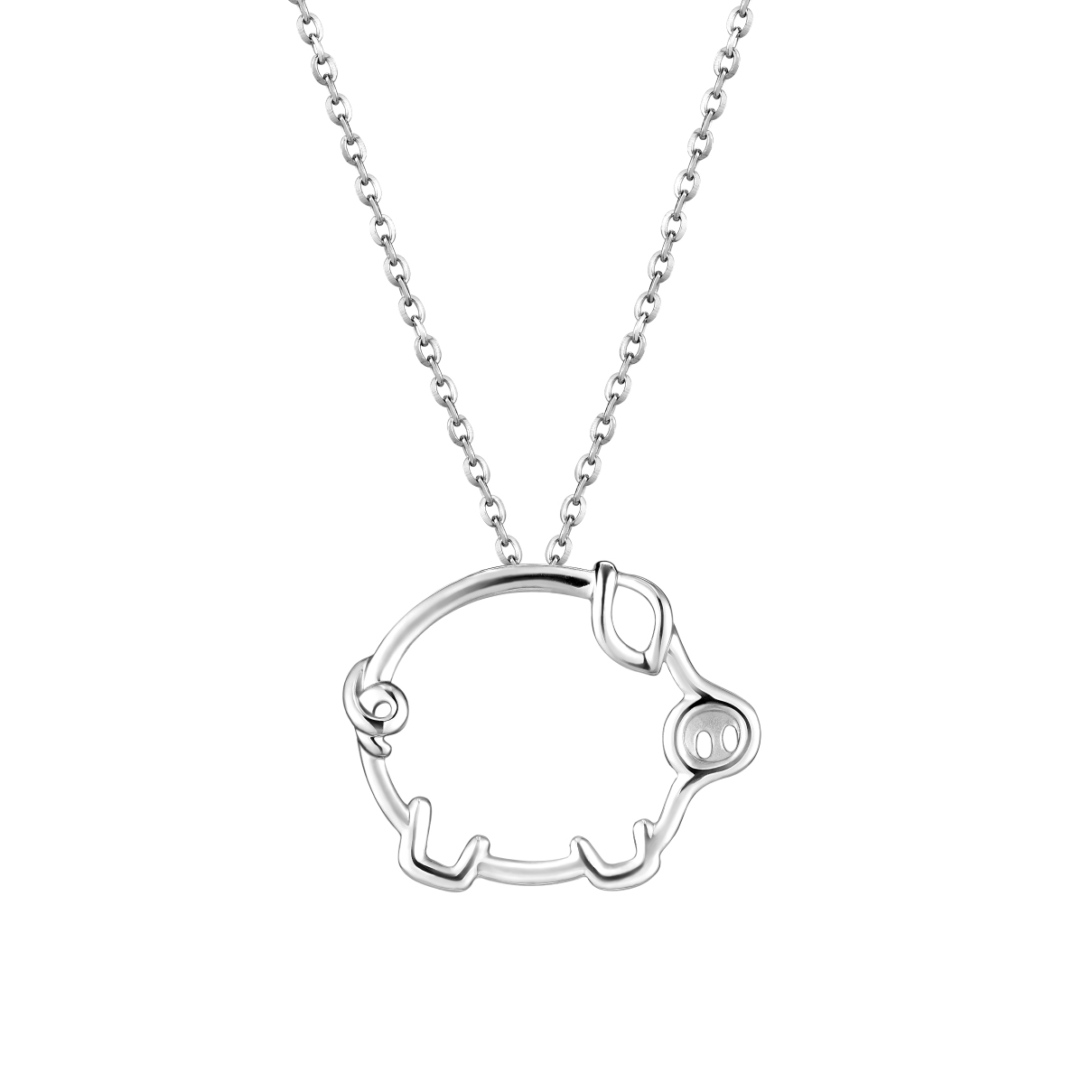 Pt Baby Darling Cute Pet Pendant