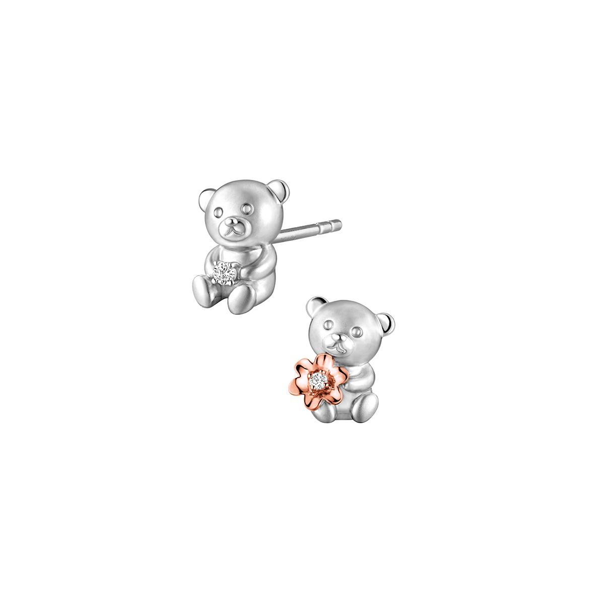 Dear Q Sweet Bears Earrings