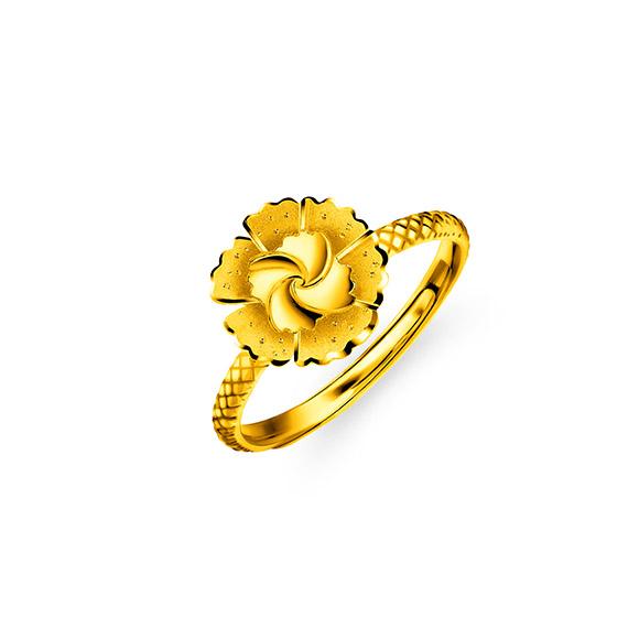 """Beloved Collection""""Beloved Blossom""""Gold Ring"""