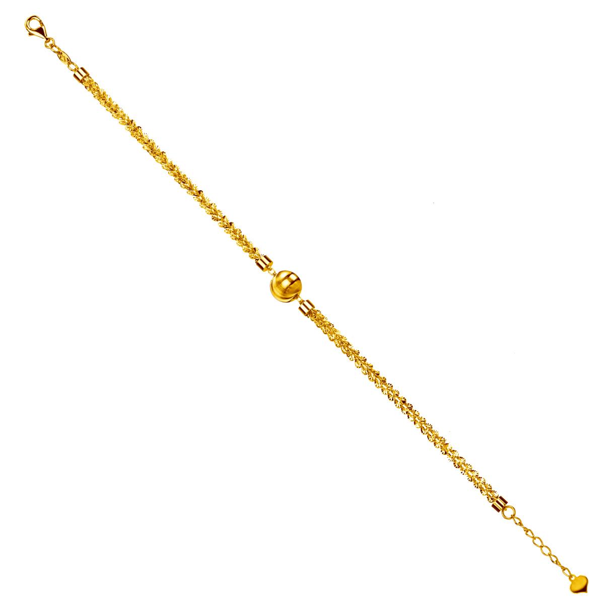 Goldstyle「晶型」手链