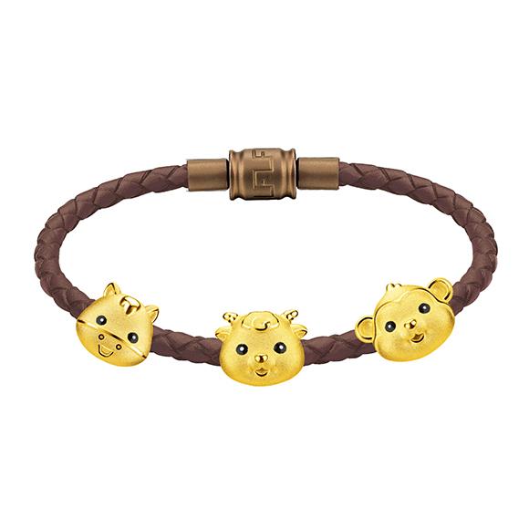 十二生肖黃金串飾
