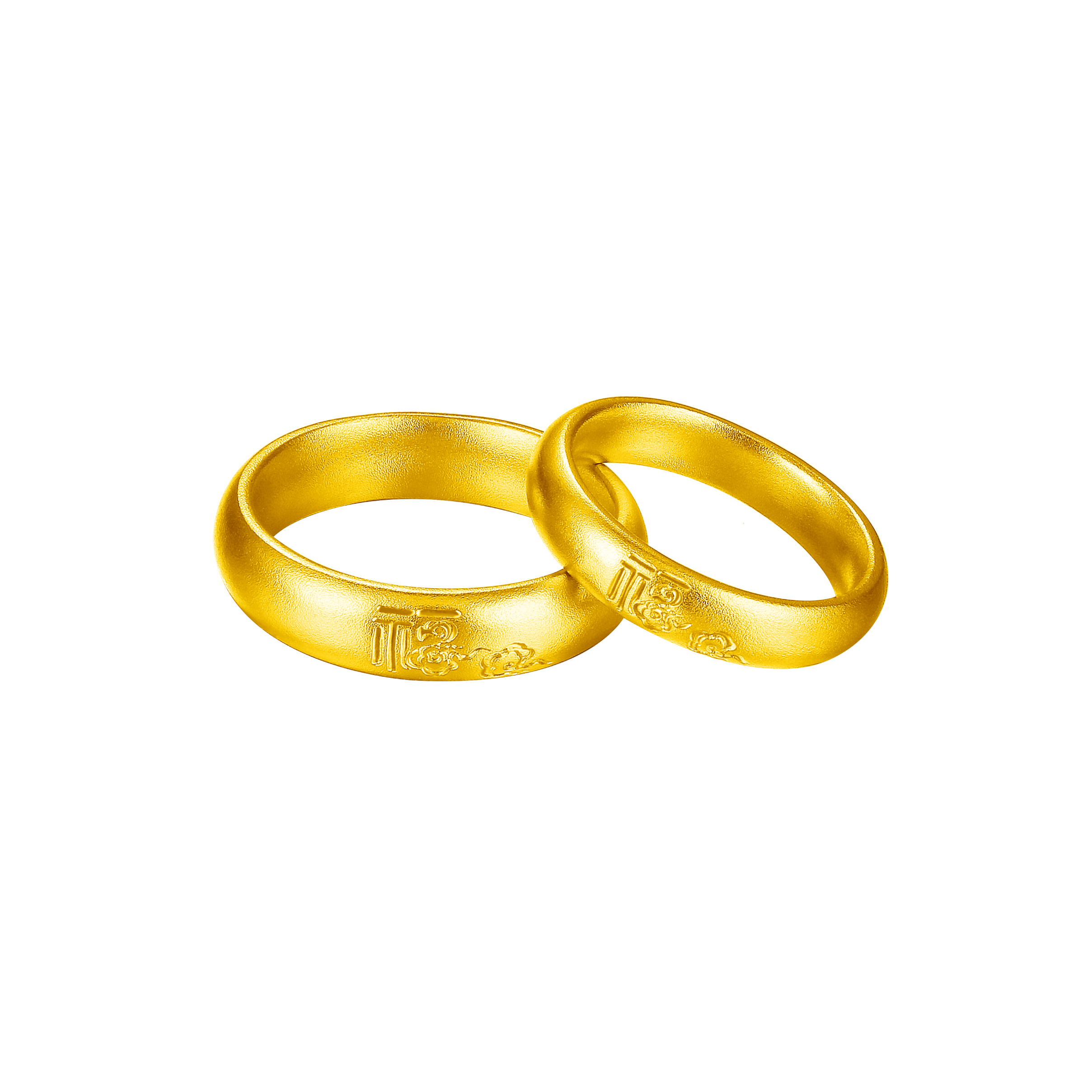 Antique Gold「瑞福」Gold Ring