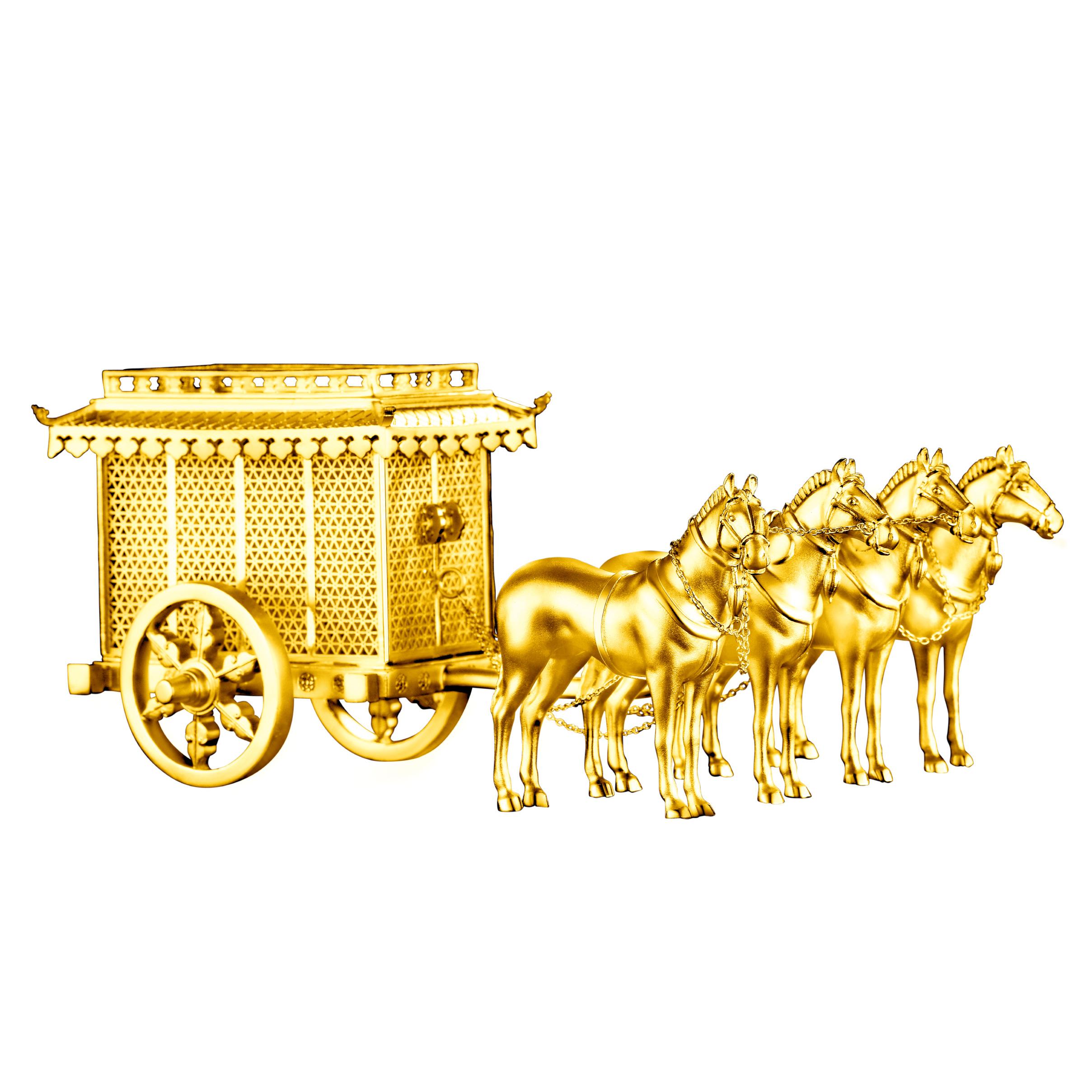 Antique Gold「藏福」Gold Ornaments