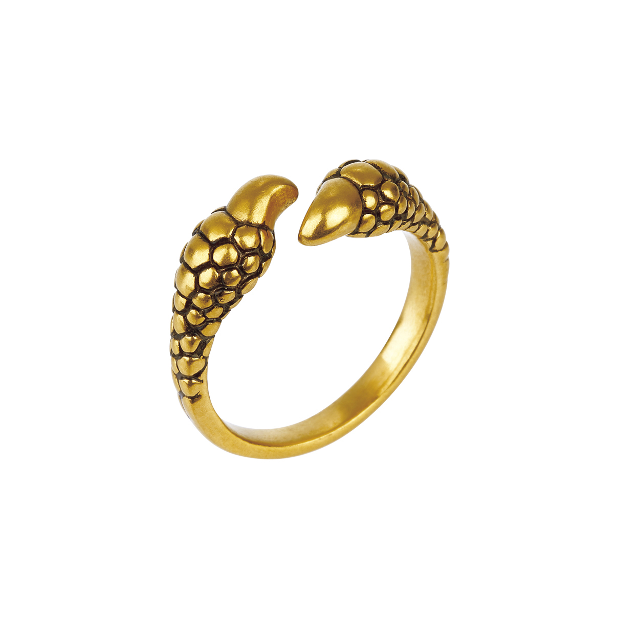 F-style Hey Cool  Gold Ring
