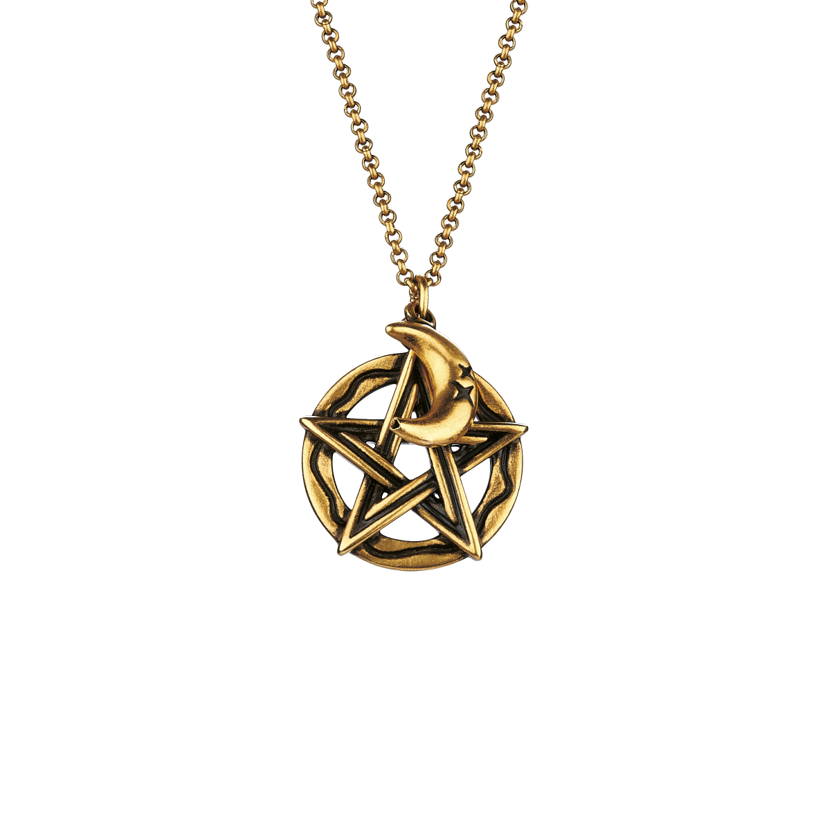 F-style Hey Cool Gold Pendant