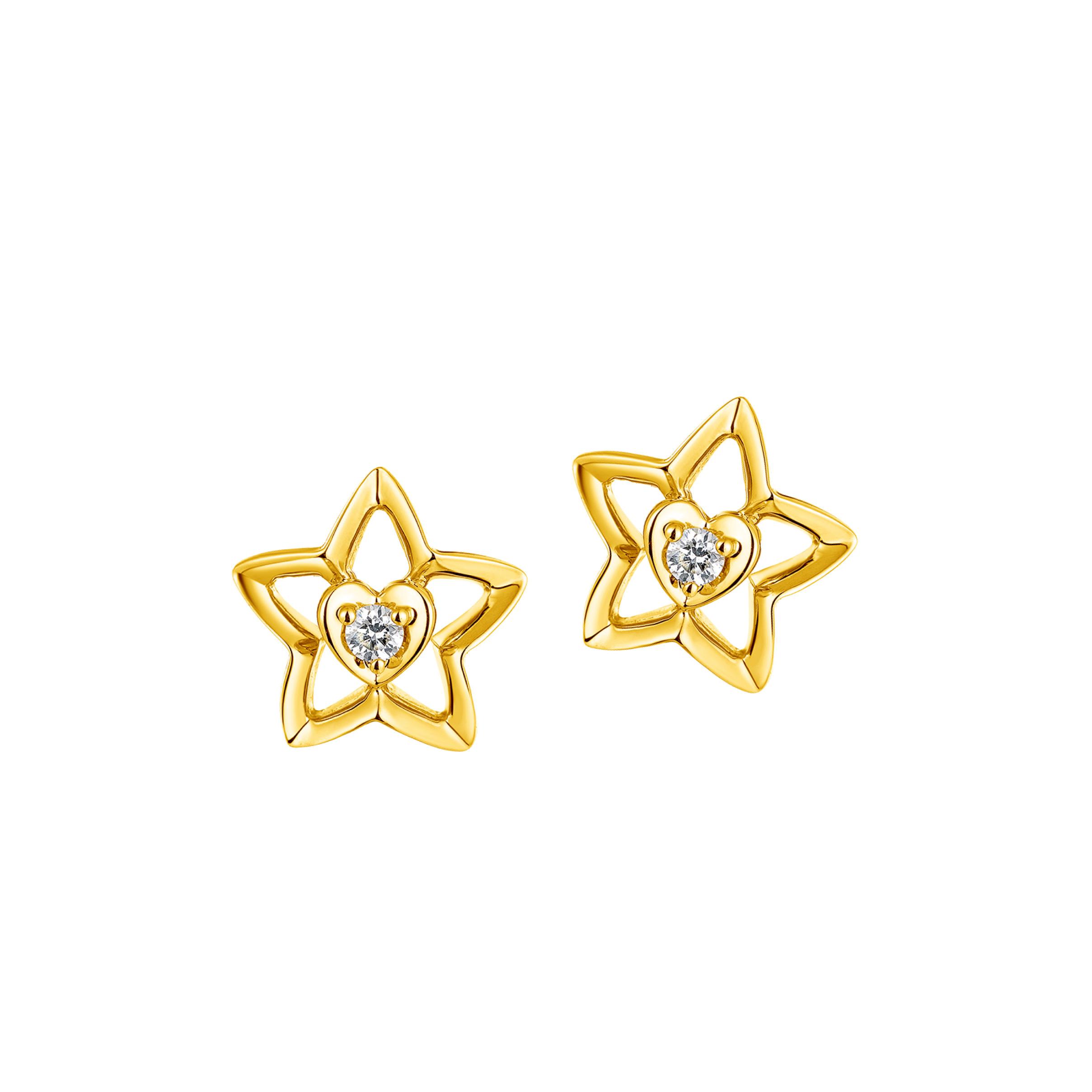 """Dear Q""""Little Star"""" Earrings"""