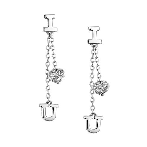 Dear Q Symbols of Love Earrings