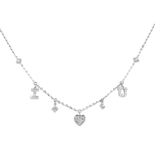 Dear Q「甜蜜情人」-愛情符號項鏈