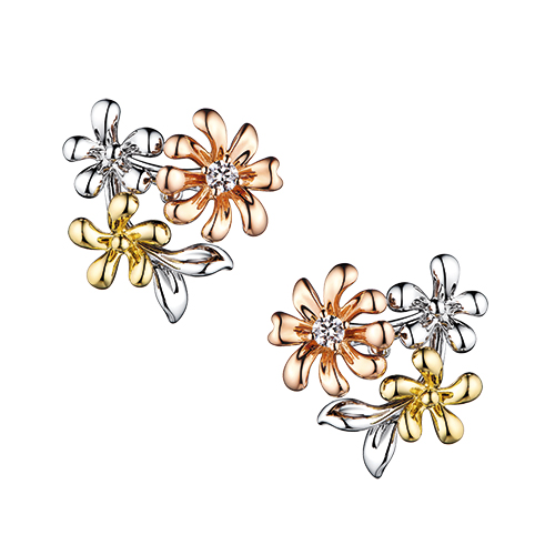 Dear Q Romantic Spring Floral World Earrings