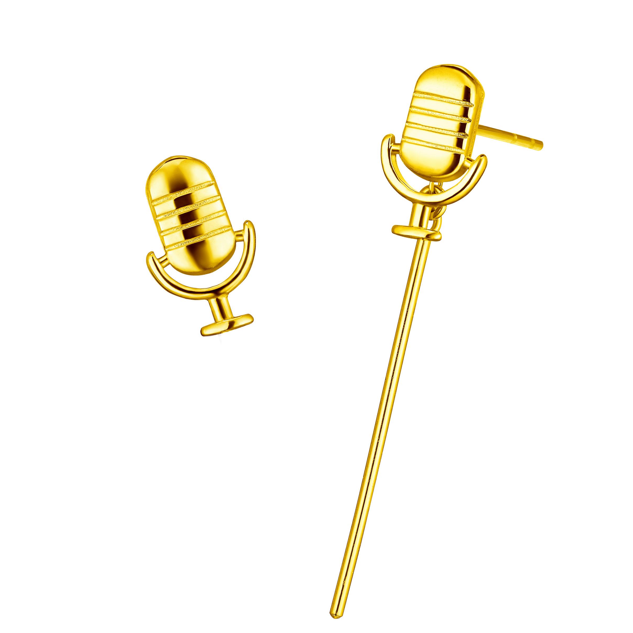 Goldstyle Mic Earrings