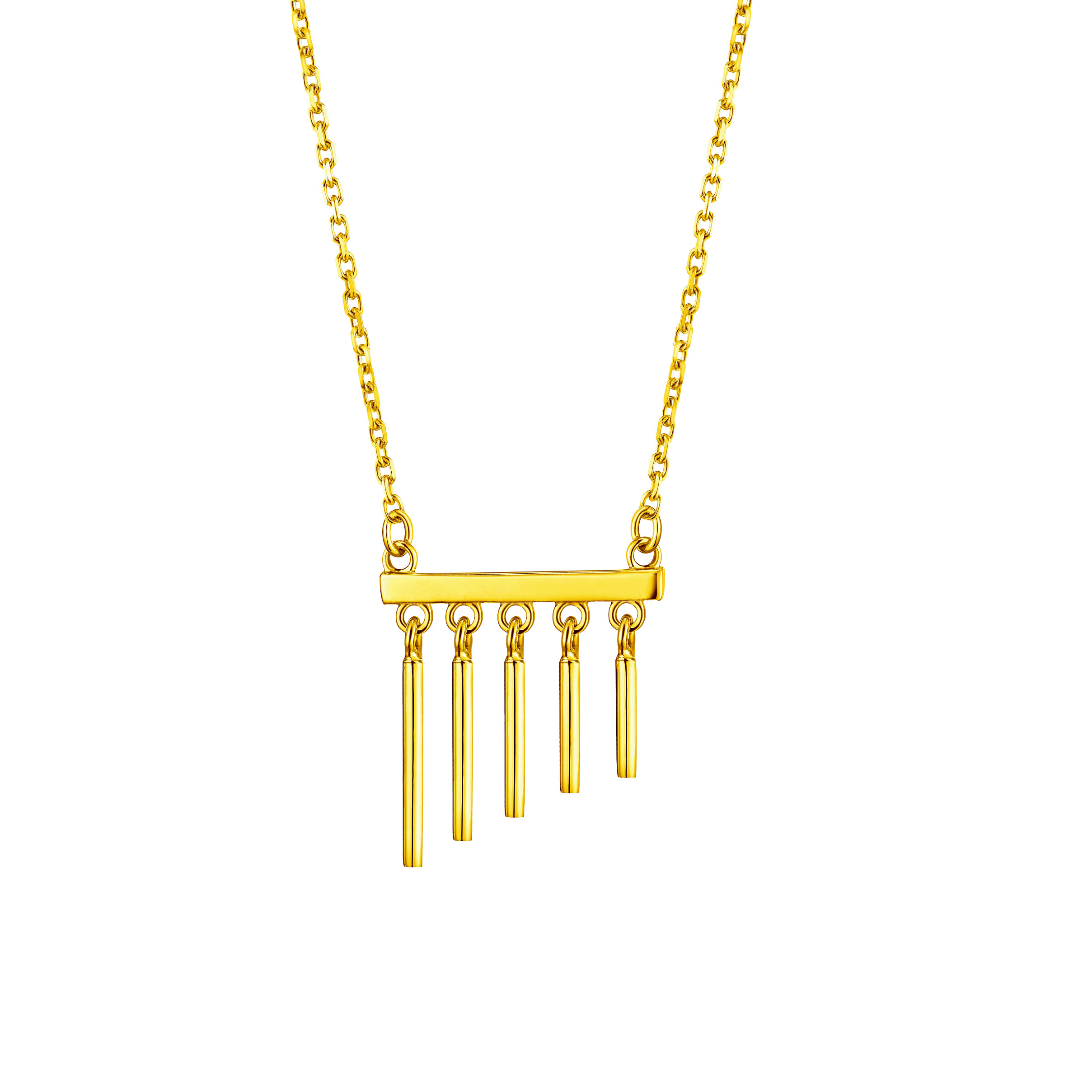 Goldstyle Wind Chimes Necklace