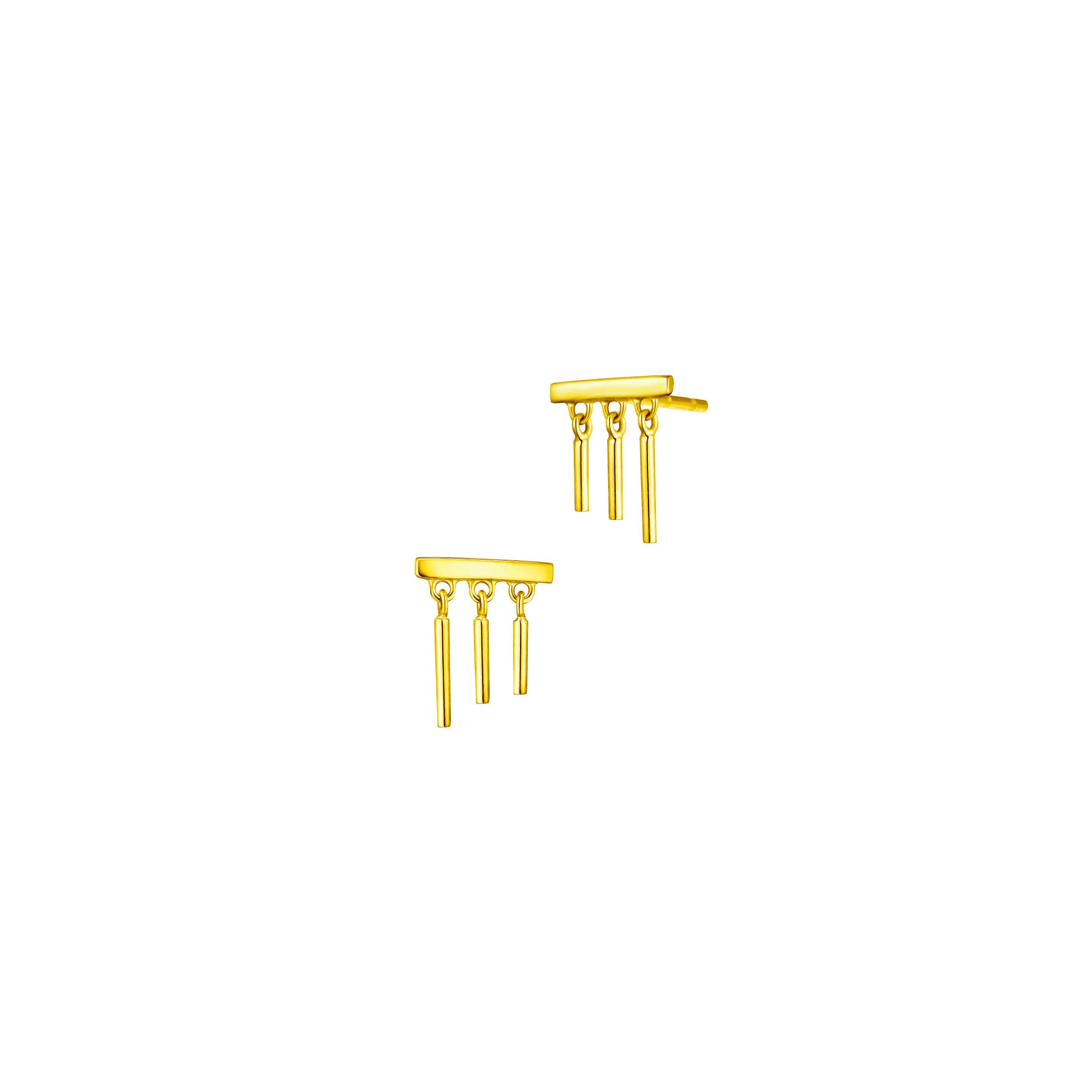 Goldstyle Wind Chimes Earrings