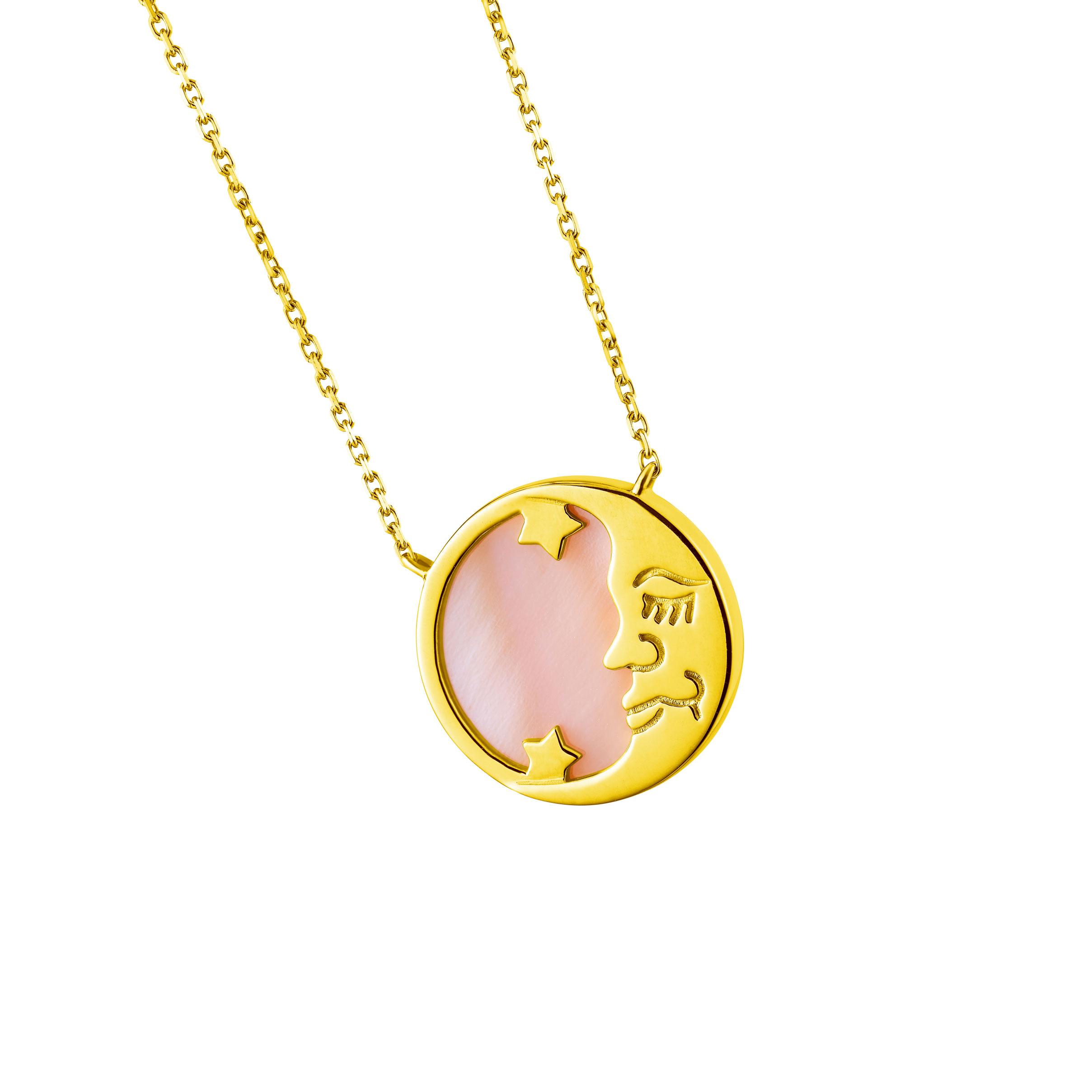 Goldstyle「日月星辰」项链