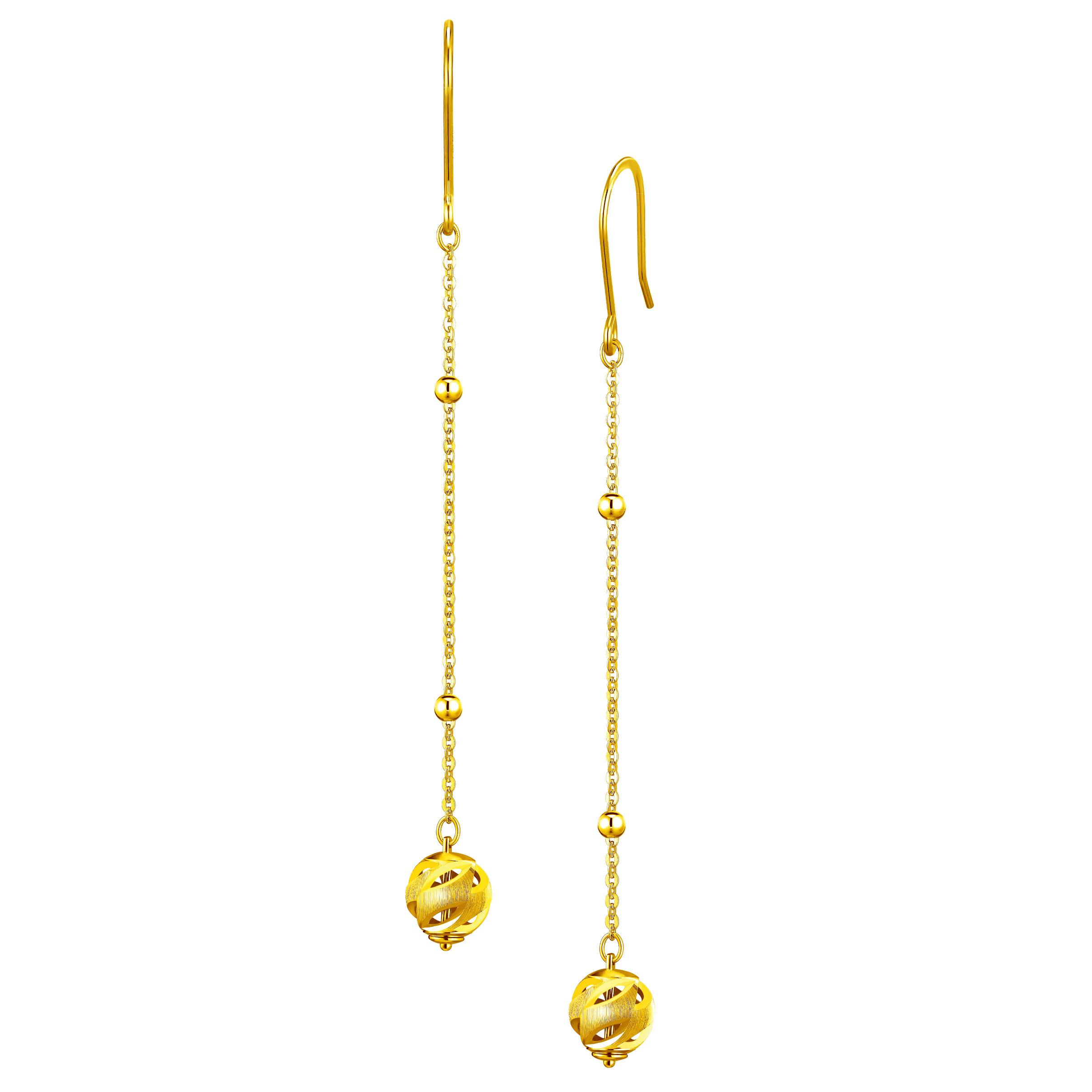 Goldstyle Planet Earrings