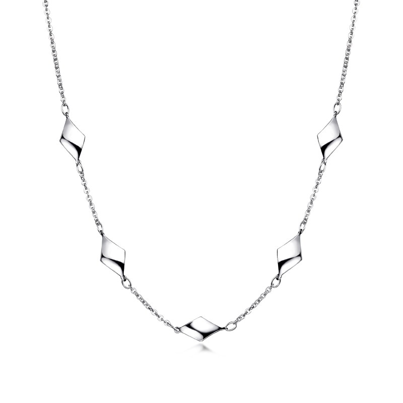 Pt Graceful 「Blooming Beauty」Necklace