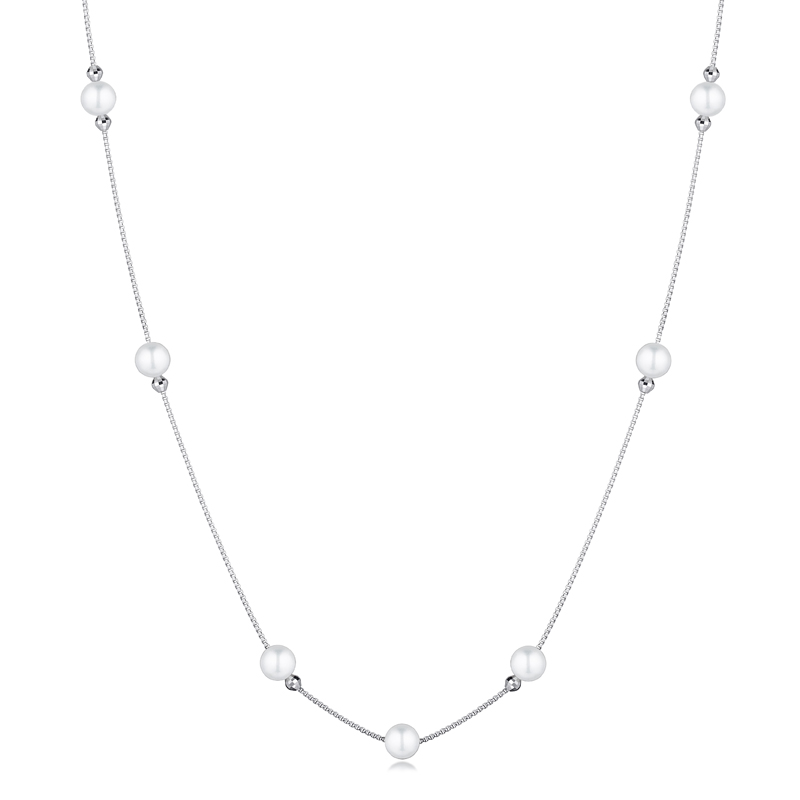 Pt Graceful 「 Beauty in Pearl」Long Necklace