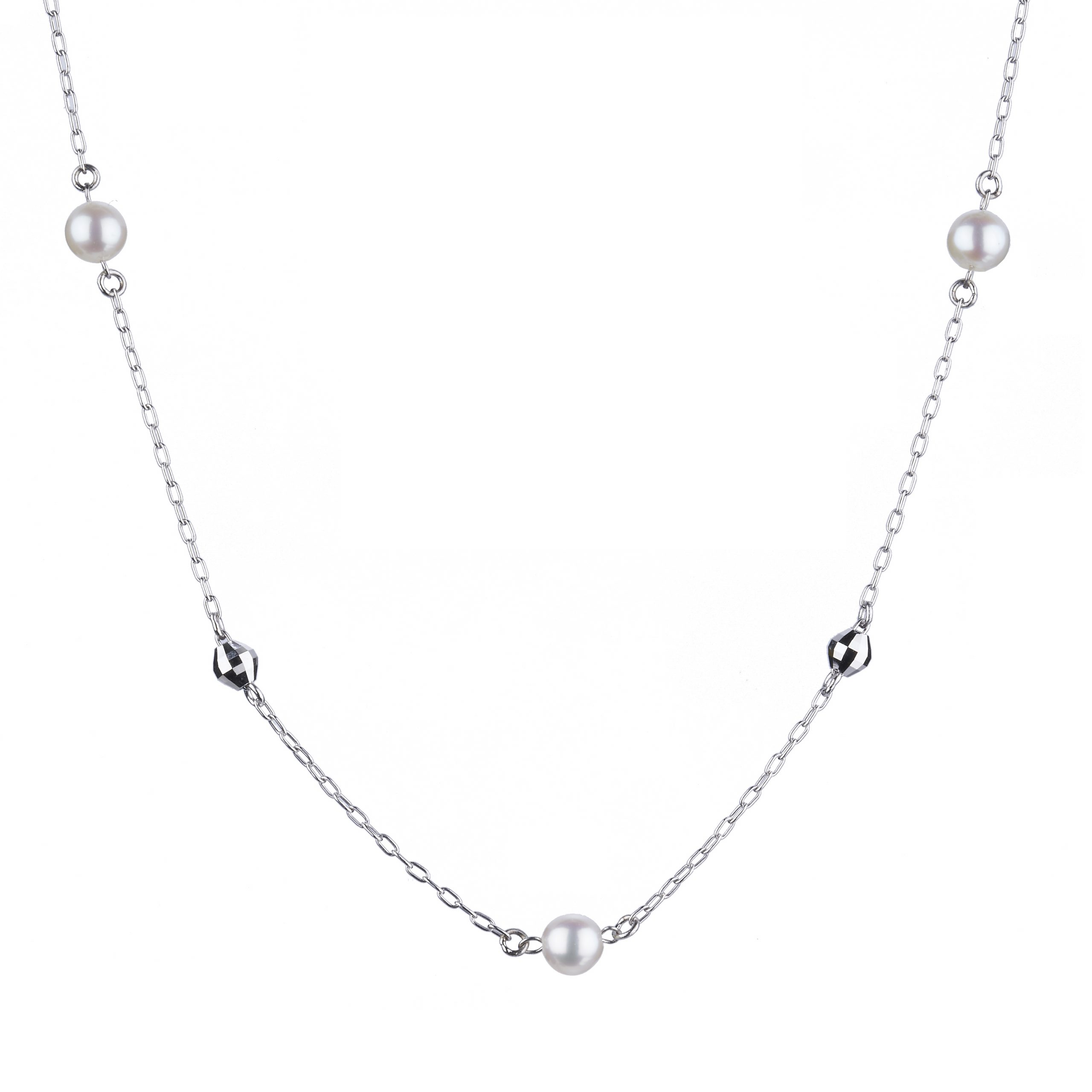 Pt Graceful 「 Beauty in Pearl」Necklace