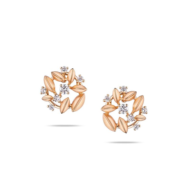 Hot items Good Luck 18K Gold Earrings