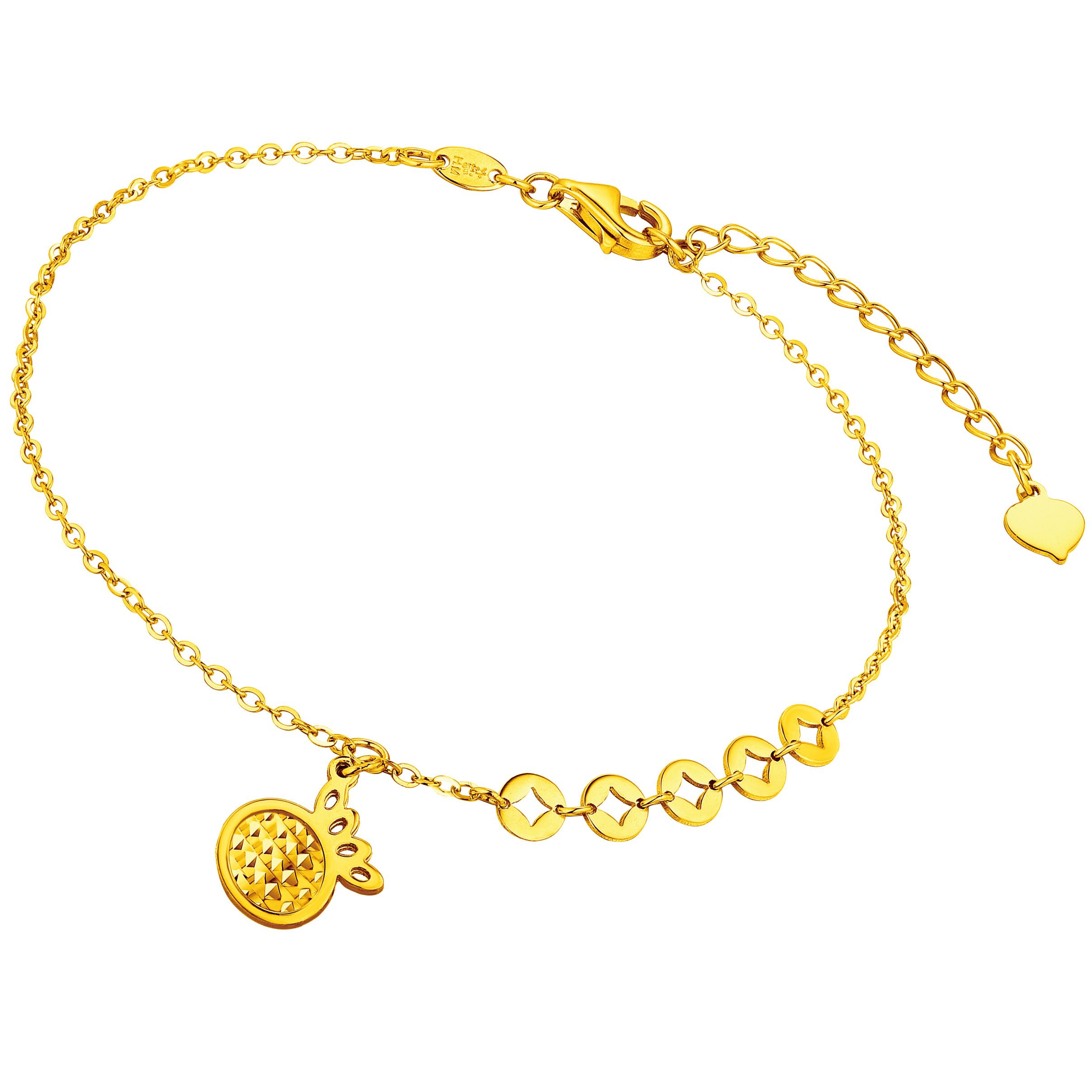 Goldstyle「黄金菠萝」手链