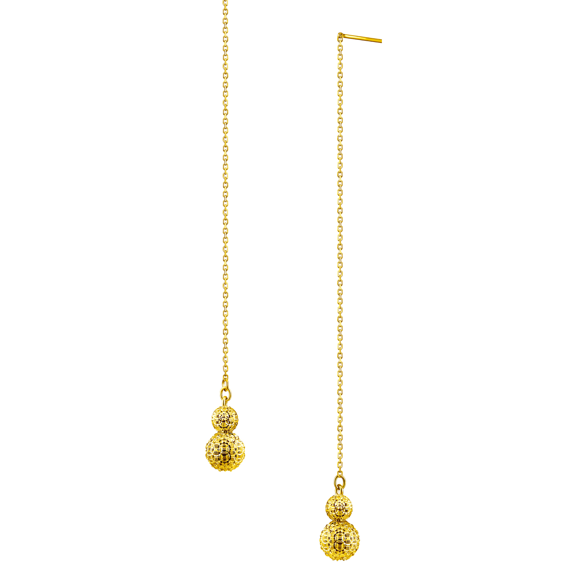 Goldstyle「治癒星球-葫蘆」Earrings