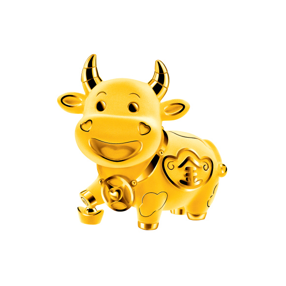 Treasure Ox Collection Treasure Ox Gold Figurine