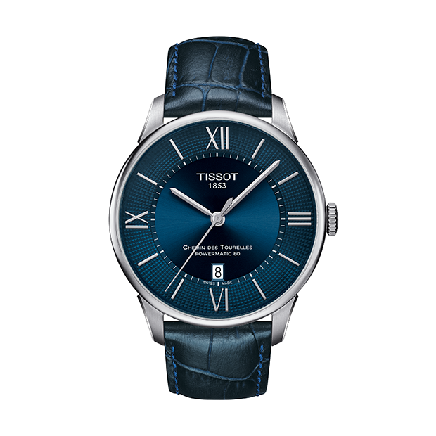 TISSOT Chemin des Tourelles Blue Powermatic 80