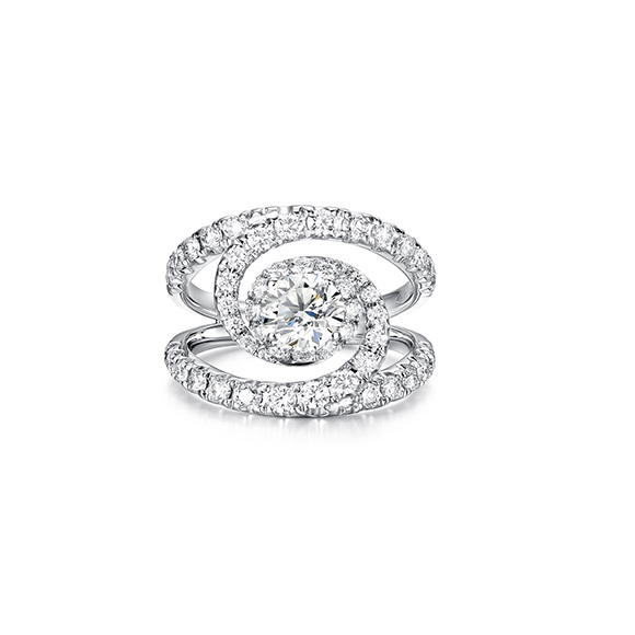 Andromeda 系列18K金鑽石戒指
