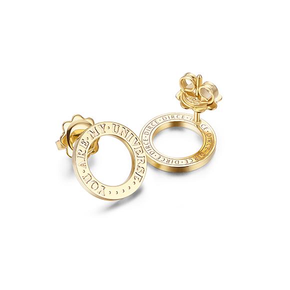 DIRCE Orbite Stud Earrings