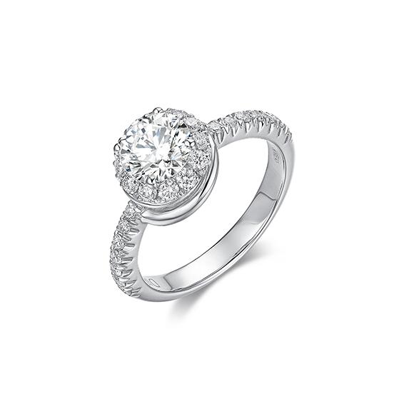 Berenice 系列18K金鑽石戒指