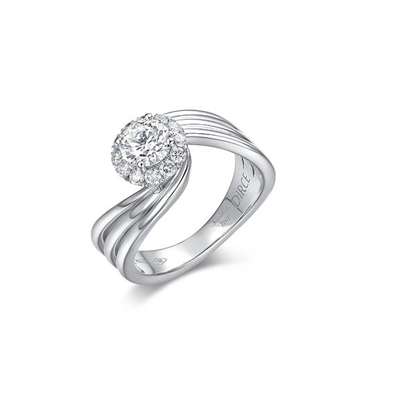 Fenice 系列18K金鑽石戒指