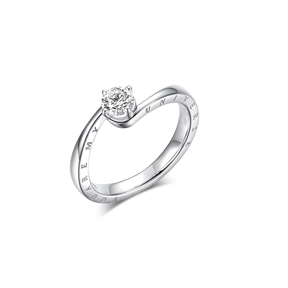 Meteora 系列18K金鑽石戒指
