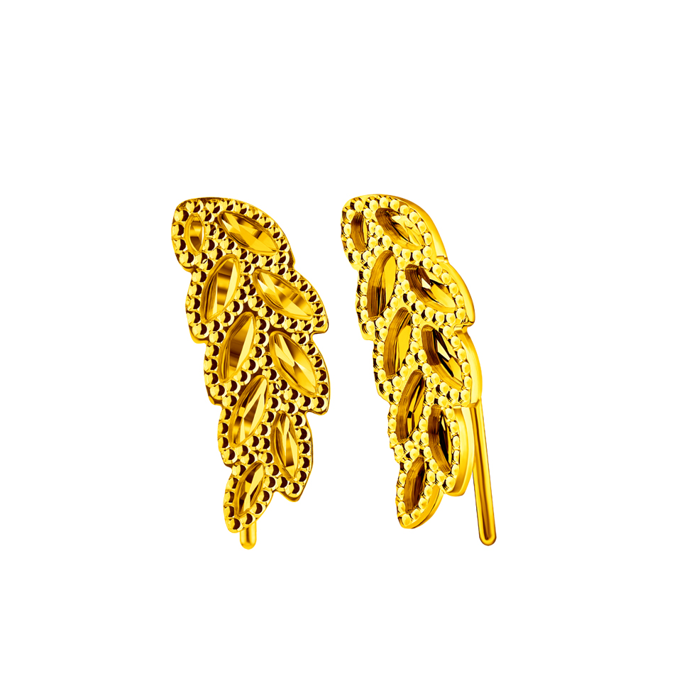 Beloved Collection Goldstyle Gold Earrings