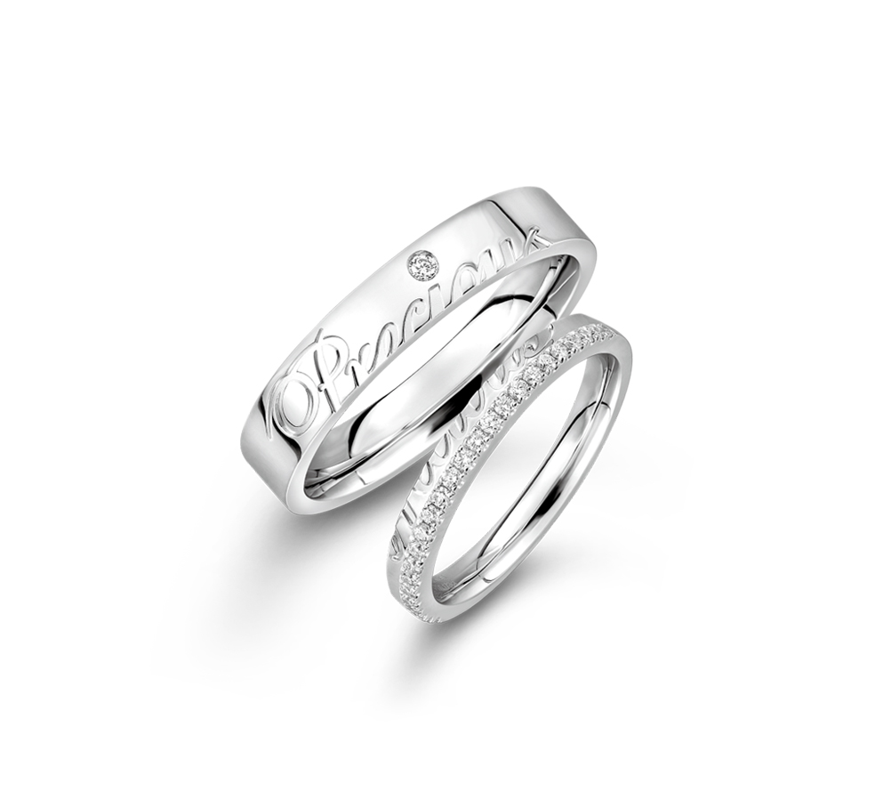 Wedding Collection「一往情深」18K Gold Wedding Rings