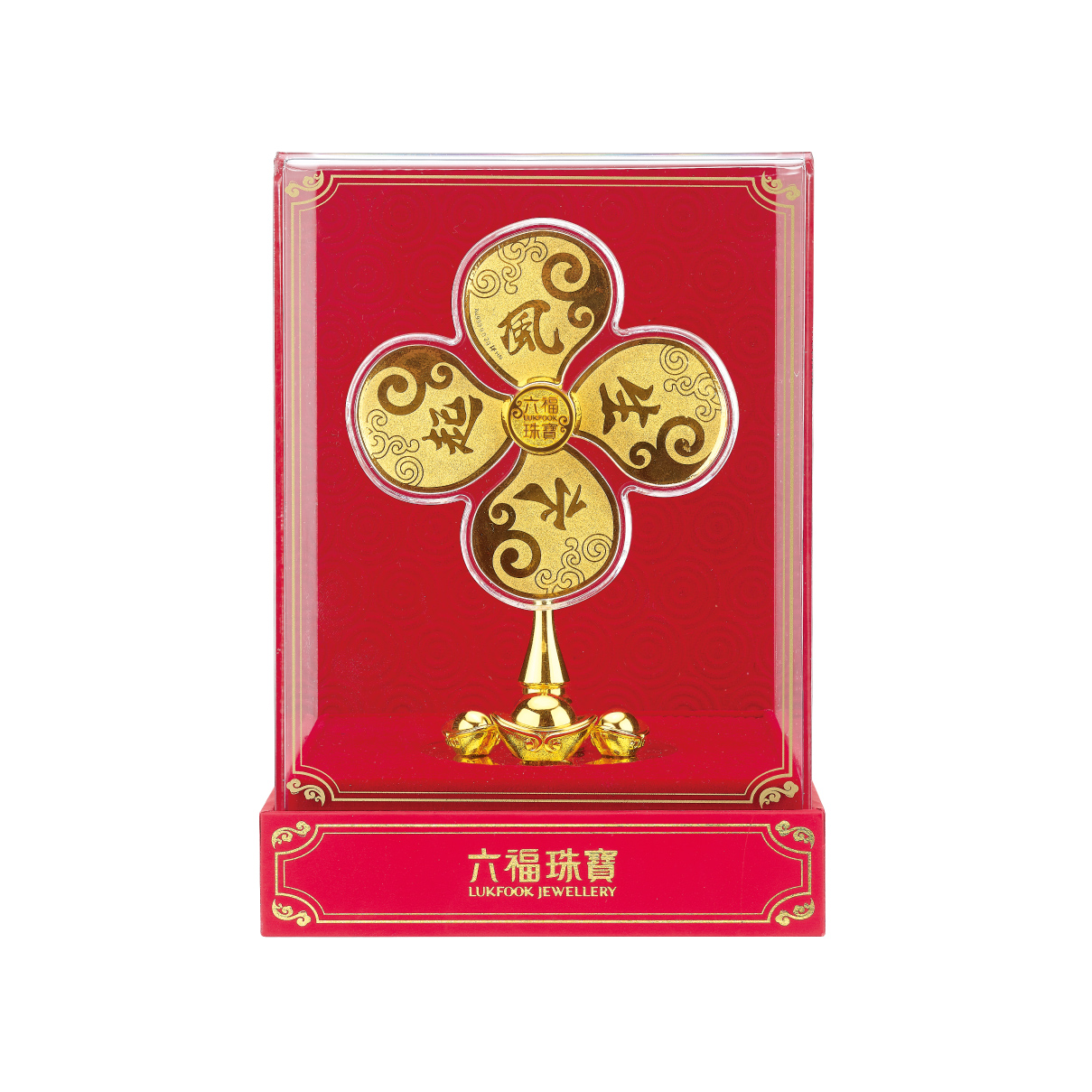 """""""Treasure Ox"""" Collection """"Wheels of Fortune"""" Gold Accessory"""