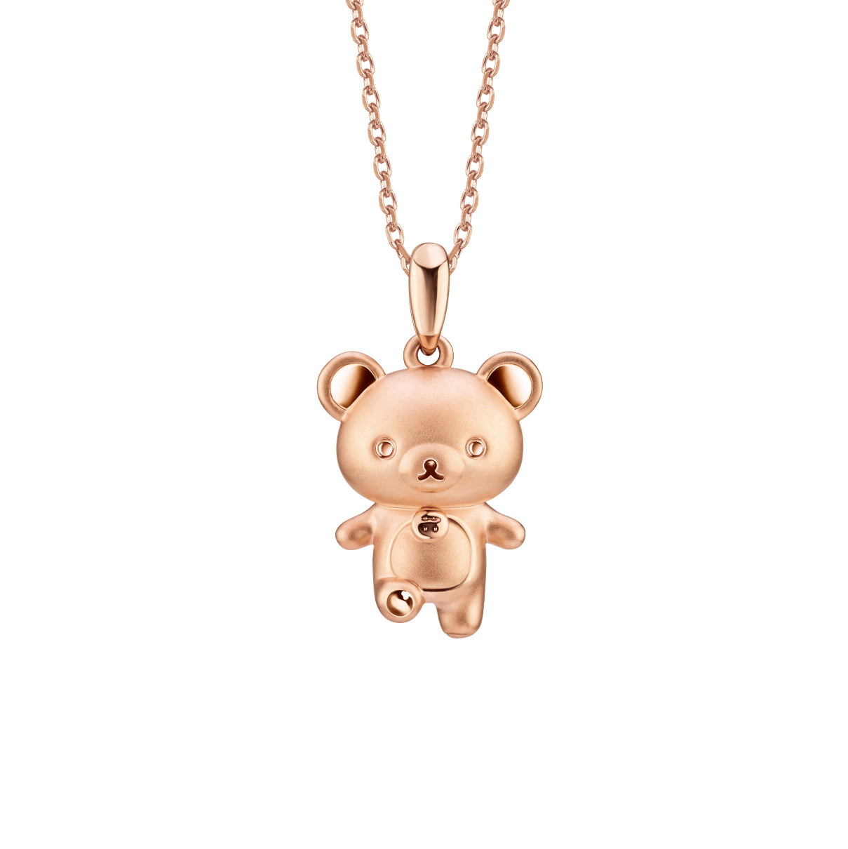 Rilakkuma™ Collection Korilakkuma Three-dimensional 18K (Red) Gold Pendant