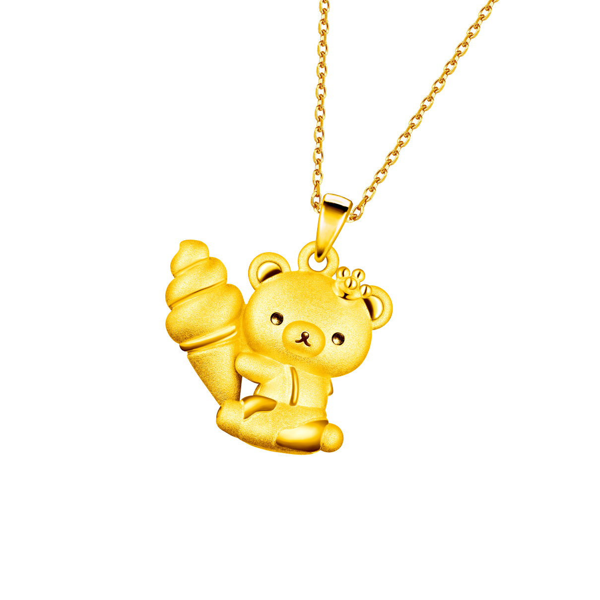 Rilakkuma™  Collection Gold Pendant