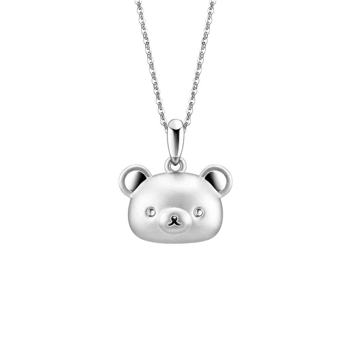 Rilakkuma™ Collection Three-dimensional 18K (White) Gold Pendant