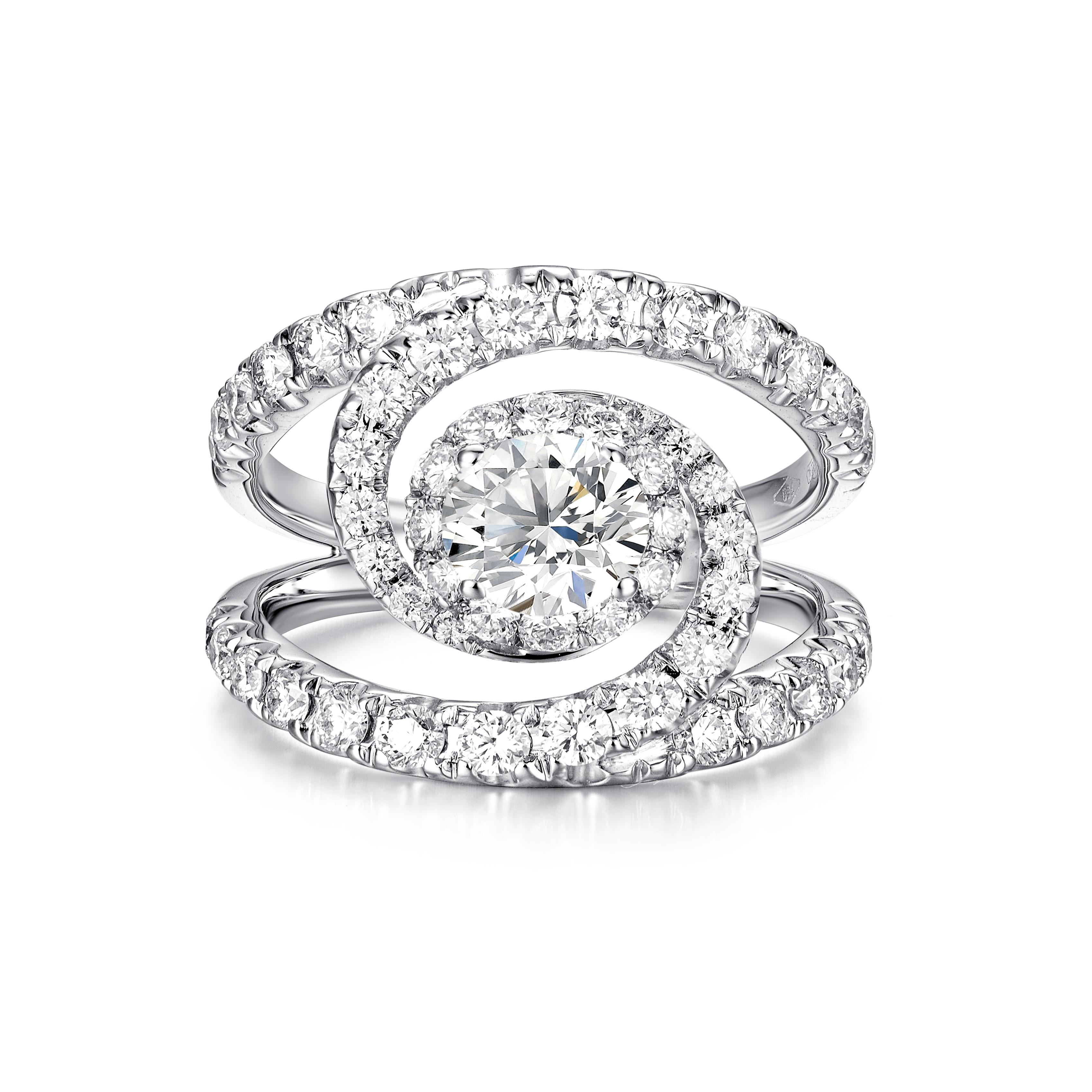 Andromeda Brillante 戒指