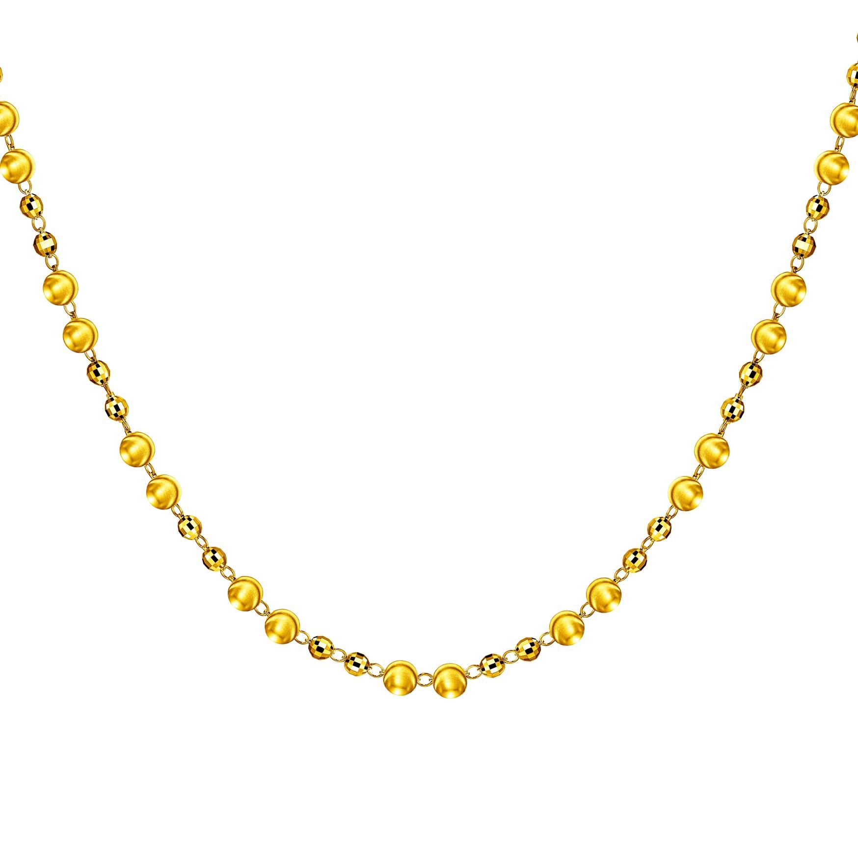 Goldstyle「光迹」项链