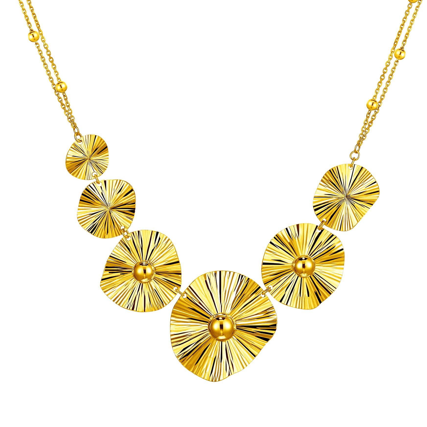 Goldstyle「荷影」项链