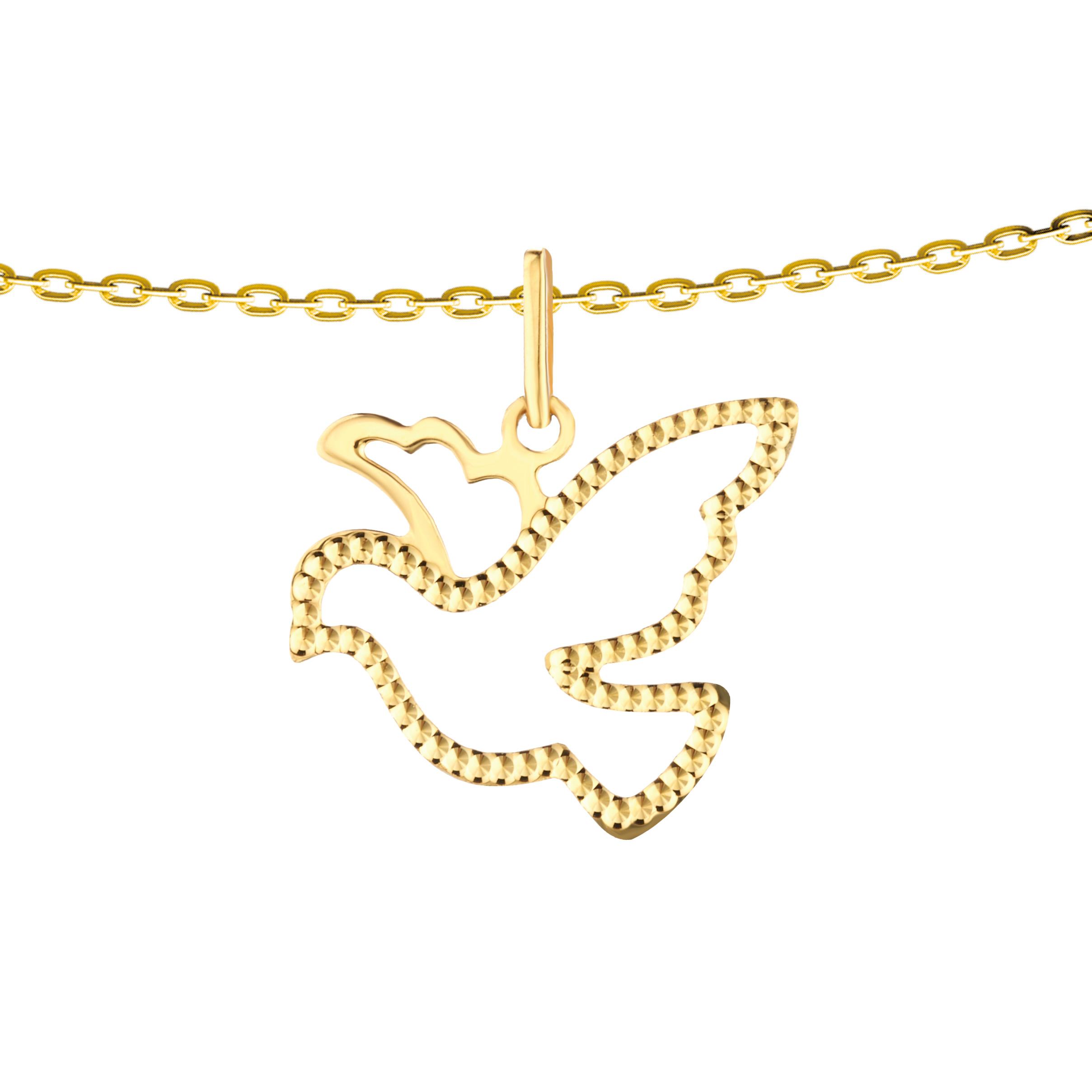 Goldstyle「和平鸽声」挂坠