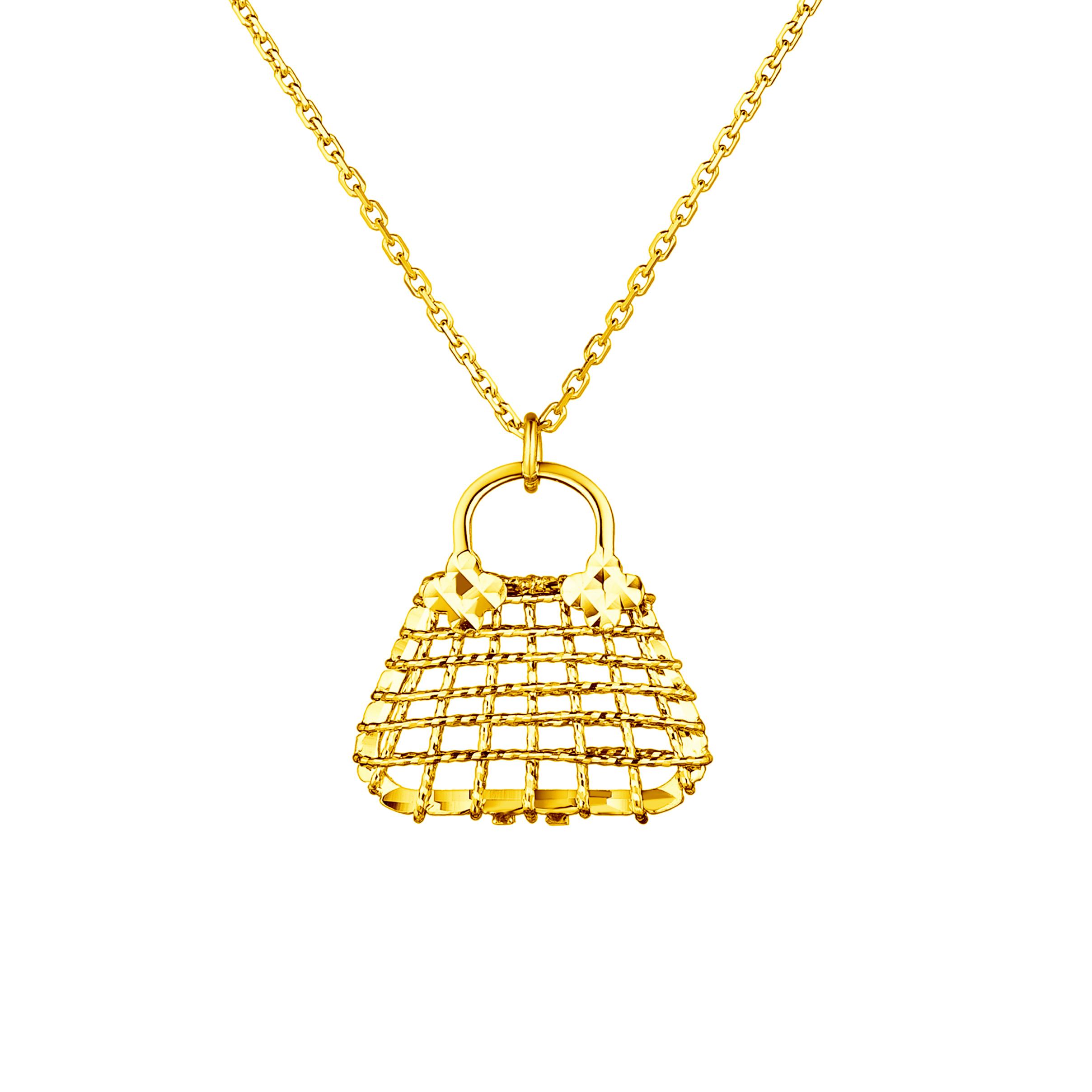Goldstyle「时尚小香包」项链
