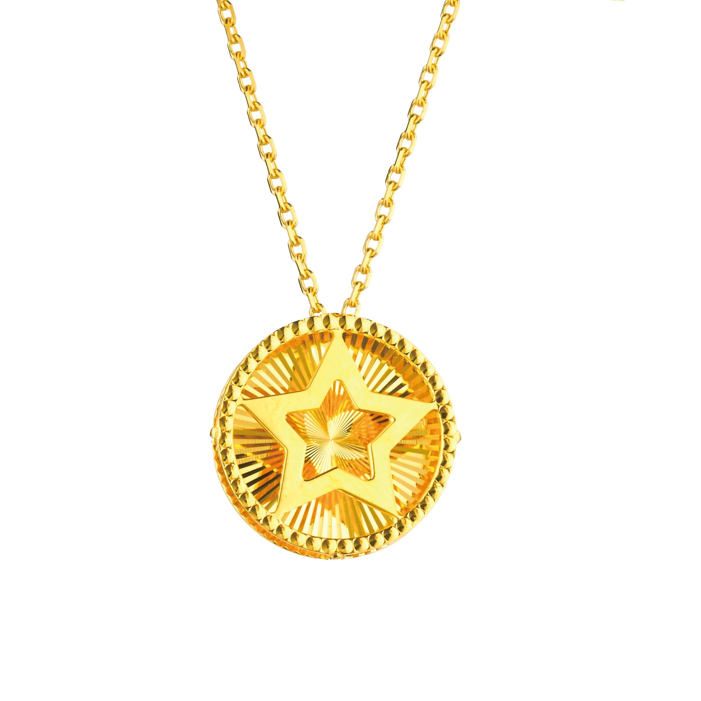 Goldstyle「星伴」项链
