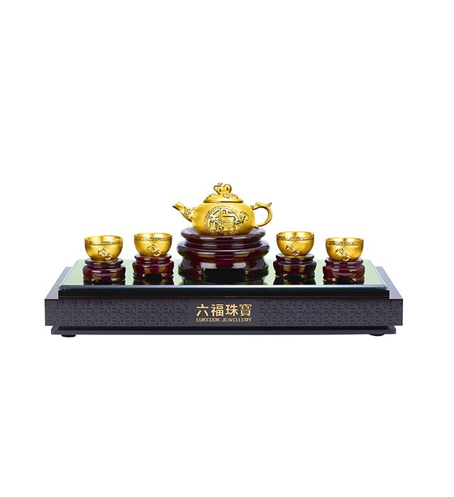 Beloved Collection「金壺納福」Tea set