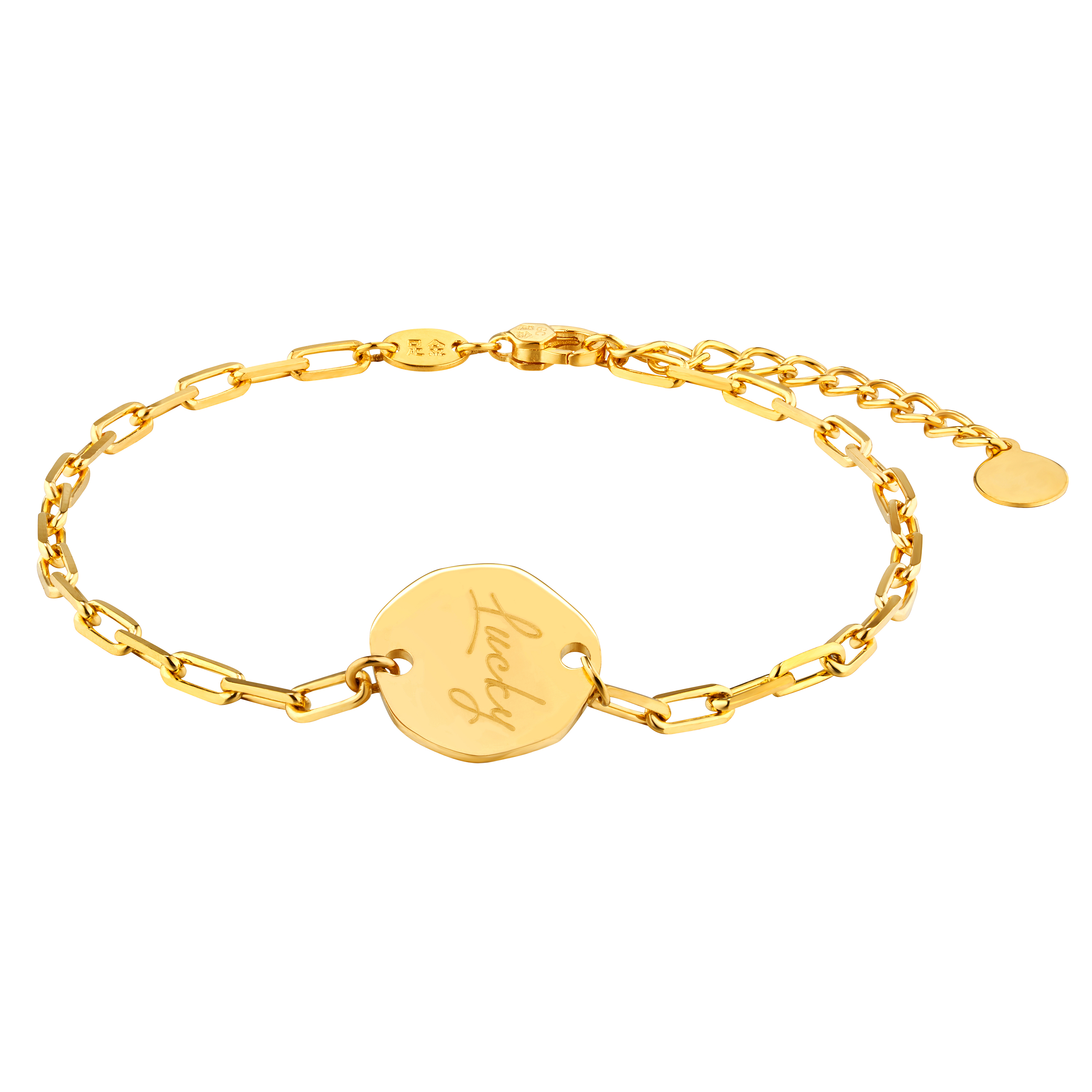 Gold of Light and Shadow Lucky Bracelet