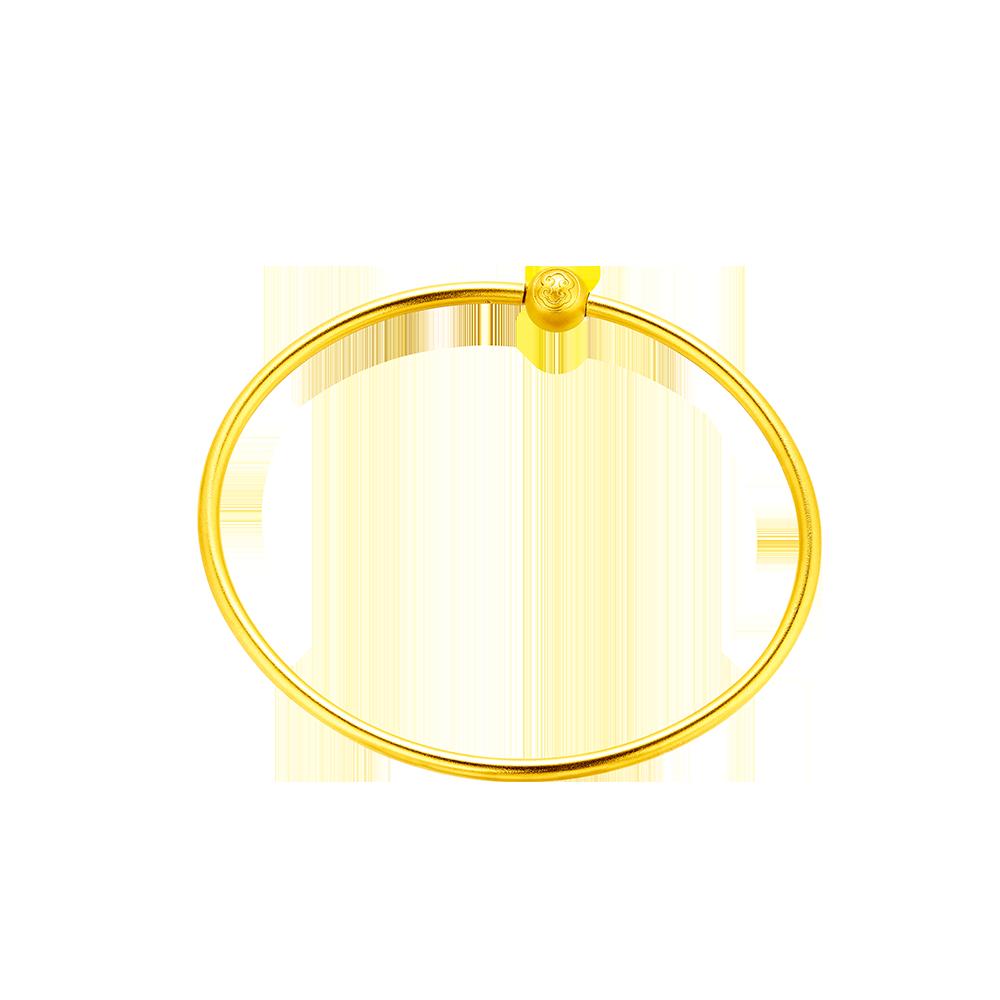 Beloved Collection Nine Treasures-Gold Bangle